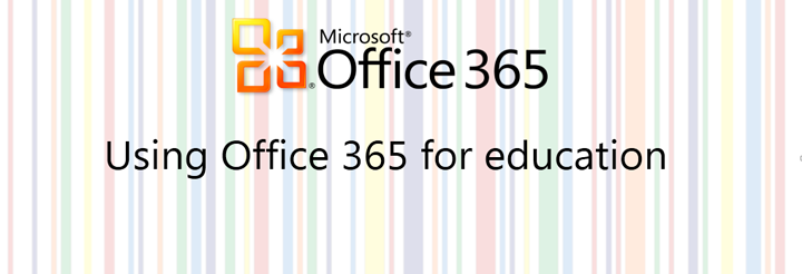 Recording: Using Office 365 for education